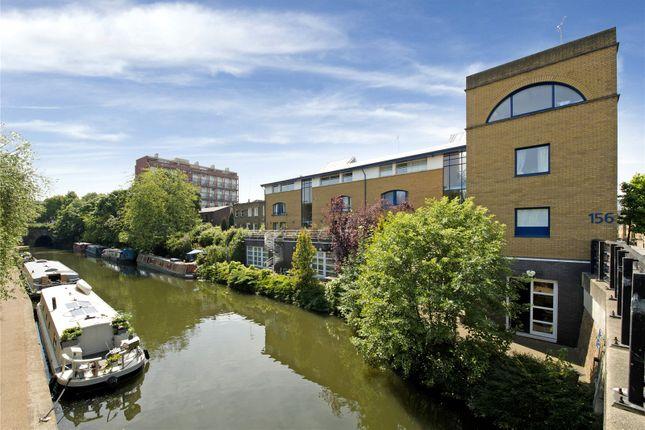 Thumbnail Flat to rent in Bridge Wharf, 156 Caledonian Road, London
