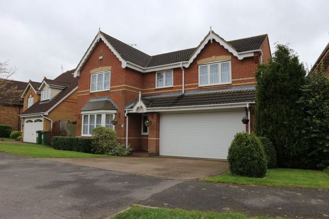 Thumbnail Detached house for sale in Forest House Lane, Leicester Forest East