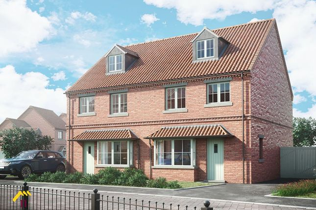 Thumbnail Semi-detached house for sale in Plot 39, (Type E), The Liberty, Phase 2, The Moorings, Off Of White Lane, Thorne