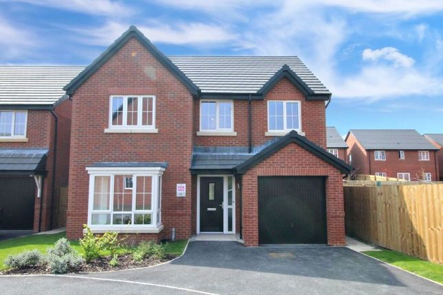 Thumbnail Detached house for sale in Hall Drive Park Hall Drive, Alsager, Stoke-On-Trent
