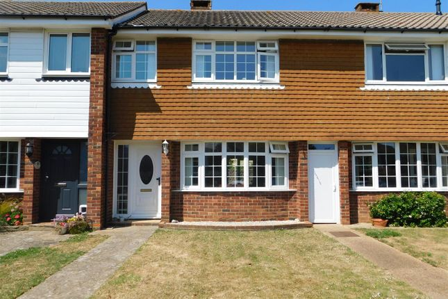 Thumbnail Terraced house to rent in Guildford Close, Worthing