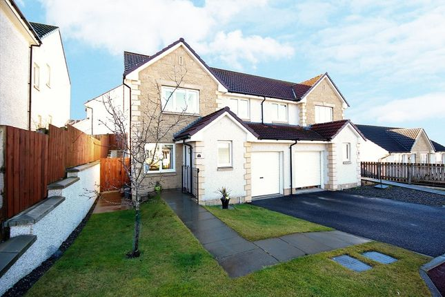 Thumbnail Semi-detached house for sale in 35 Greenwood Gardens, Milton Of Leys, Inverness.
