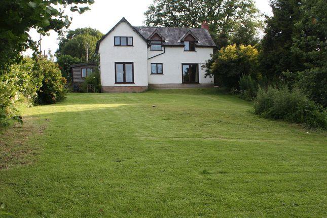 Thumbnail Detached house for sale in Yardro, Presteigne