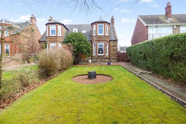 Thumbnail Semi-detached house for sale in Mansewell Road, Prestwick, South Ayrshire