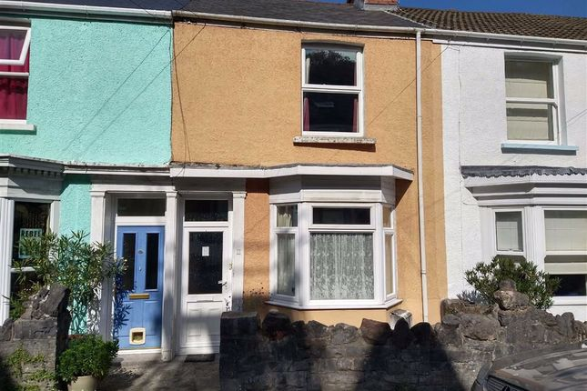 Thumbnail Terraced house for sale in Overland Road, Mumbles, Swansea