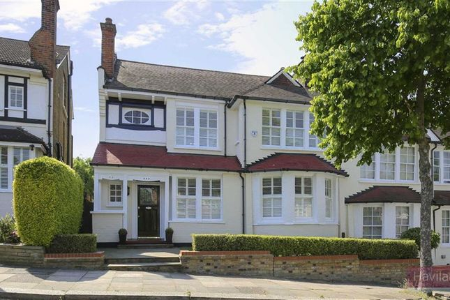 Thumbnail Semi-detached house for sale in The Chine, Grange Park, London