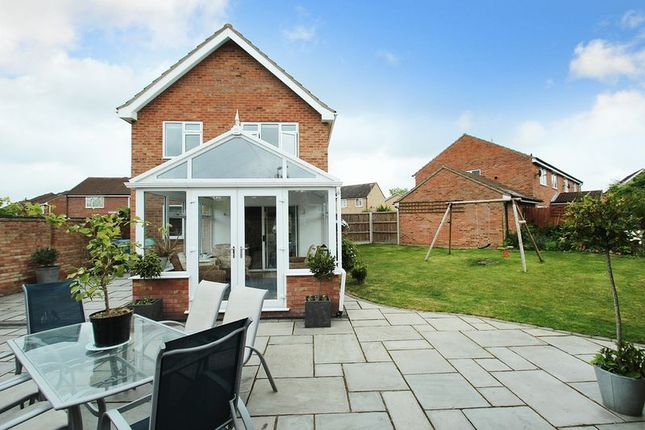 Thumbnail Detached house for sale in Amderley Drive, Norwich