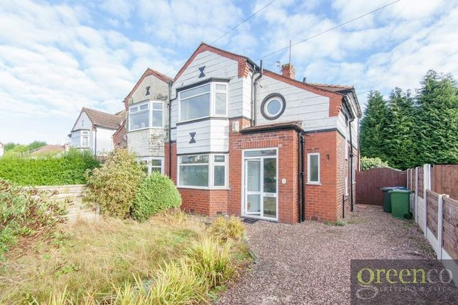 Thumbnail Semi-detached house to rent in Edenfield Road, Prestwich, Manchester