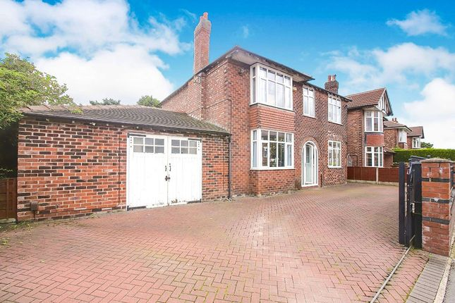 Thumbnail Detached house for sale in Richmond Hill Road, Cheadle, Greater Manchester