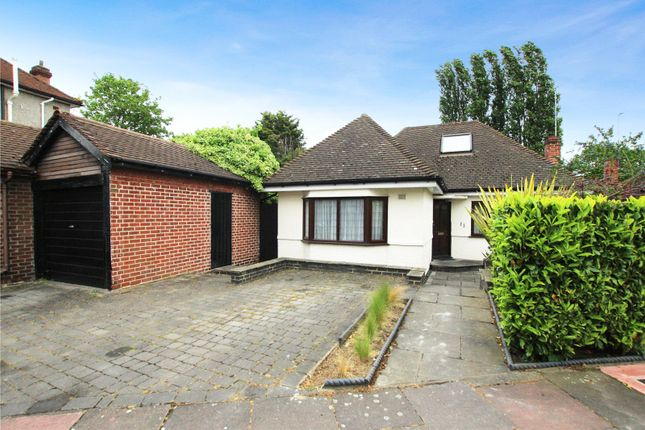Thumbnail Detached bungalow for sale in Old Farm Road West, Sidcup, Kent