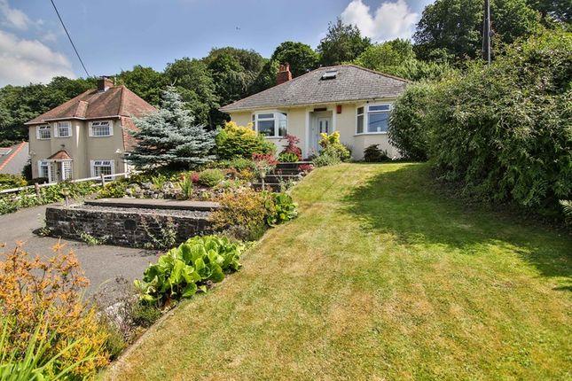 Thumbnail Detached bungalow for sale in Blaenavon Road, Govilon, Abergavenny