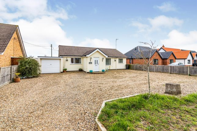Thumbnail Detached bungalow for sale in High Road, Wortwell, Harleston