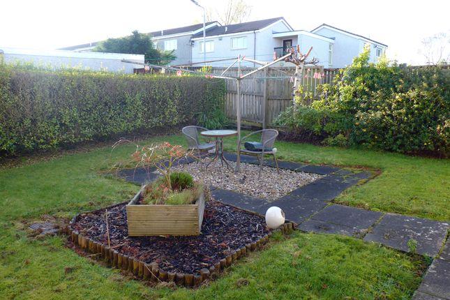Rear Gardens of Glen More, St. Leonards, East Kilbride G74