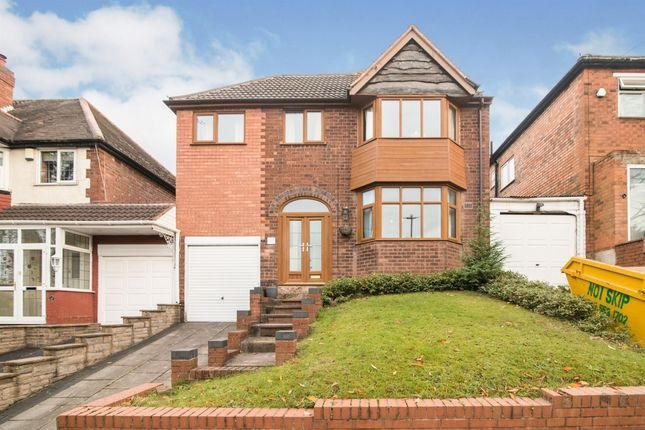 Thumbnail Link-detached house for sale in Ebley Road, Handsworth Wood, Birmingham