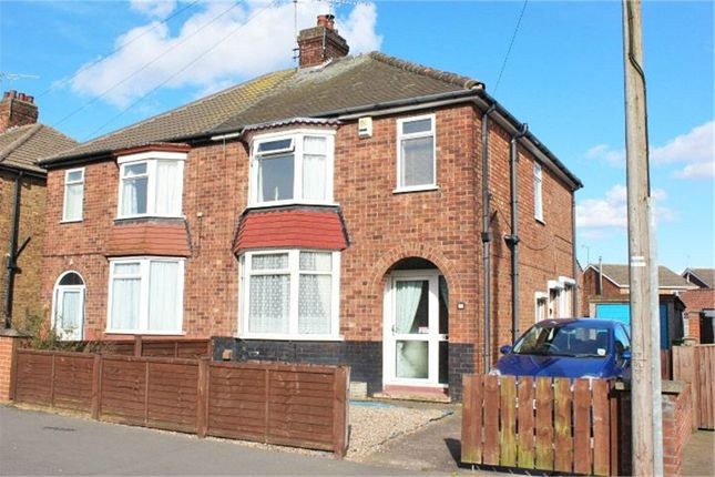 Thumbnail Semi-detached house for sale in Kenilworth Road, Scunthorpe, Lincolnshire