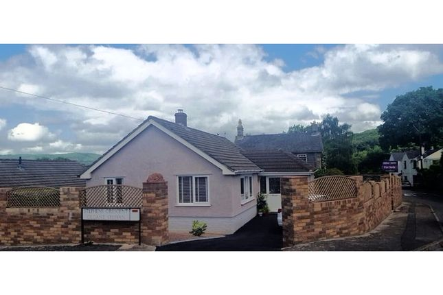 Thumbnail Detached bungalow for sale in Stephens Crescent, Abergavenny