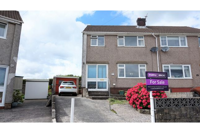Thumbnail Semi-detached house for sale in Vale View, Pontyclun