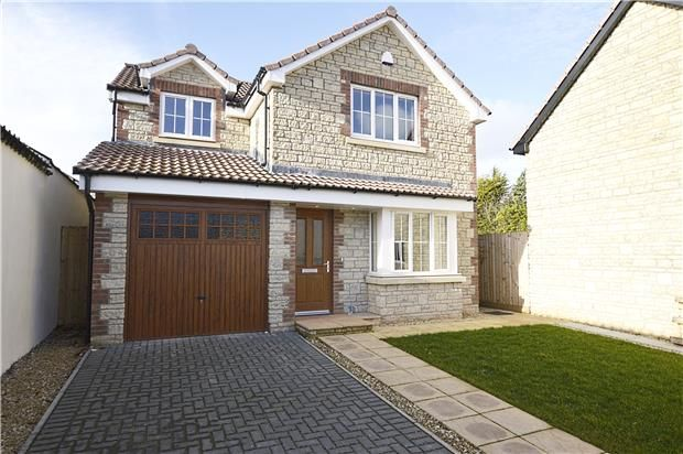 Thumbnail Detached house for sale in Upper Court Mews, Westfield, Radstock