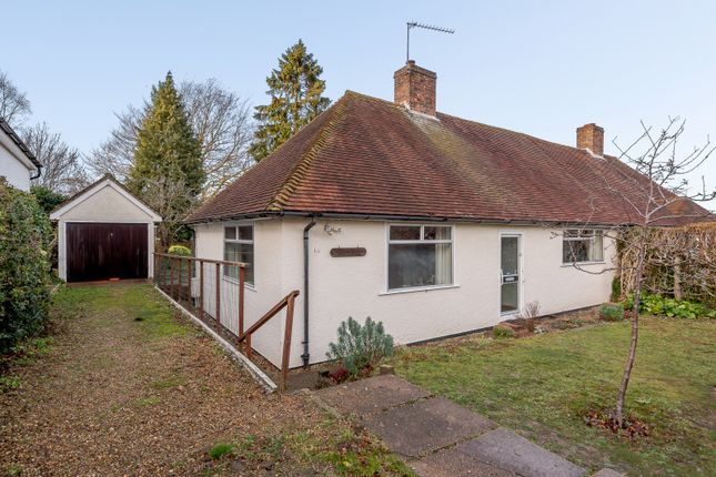 Thumbnail Semi-detached bungalow for sale in Litchfield Way, Onslow Village, Guildford