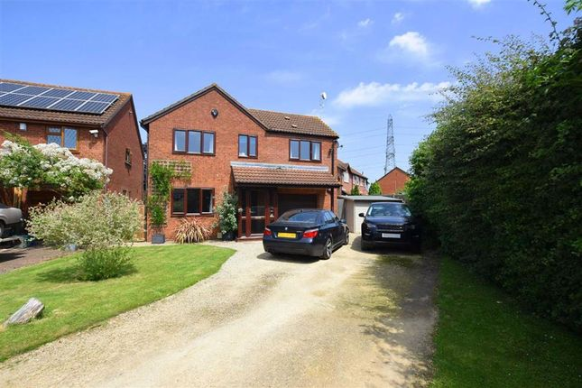 Thumbnail Detached house for sale in Sheevaun Close, Longlevens, Gloucester
