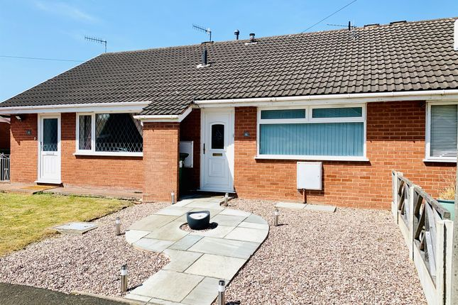 Thumbnail Terraced bungalow for sale in Aylsham Drive, Upton, Wirral