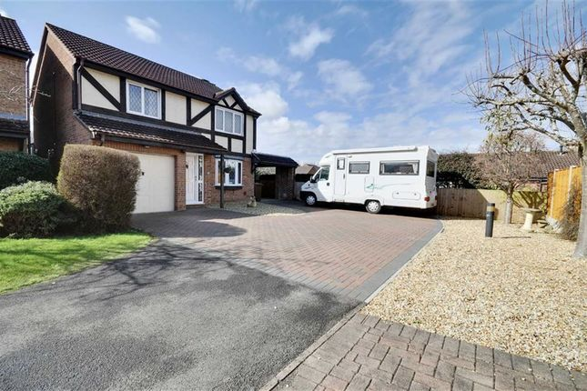 Thumbnail Detached house for sale in Boleyn Close, Churchdown, Gloucester