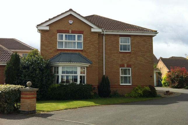 Thumbnail Detached house to rent in Lindisfarne Way, Grantham