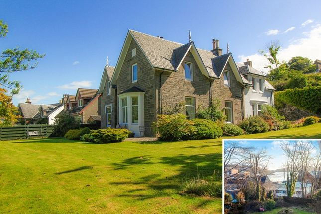 Thumbnail Detached house for sale in Albert Road, Oban, Argyllshire