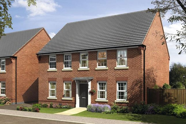 "Thumbnail Detached house for sale in ""Chelworth"" at New Road, Tankersley, Barnsley"