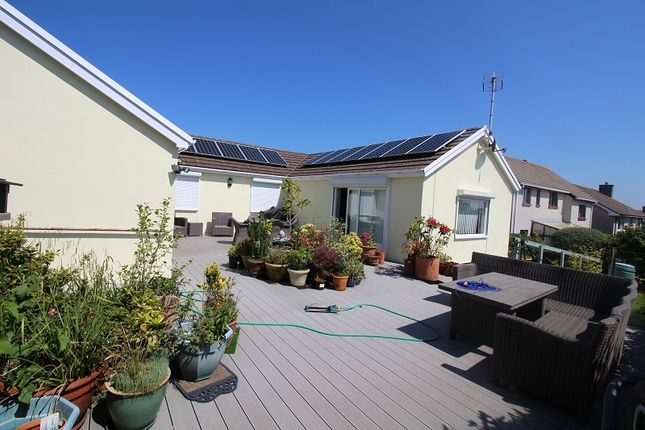 Thumbnail Detached bungalow for sale in Westaway Drive, Hakin, Milford Haven, Pembrokeshire.
