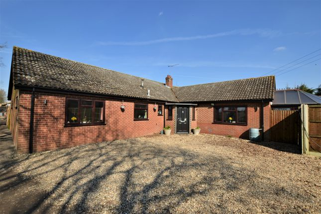 Thumbnail Detached bungalow for sale in Dereham Road, Westfield, Dereham