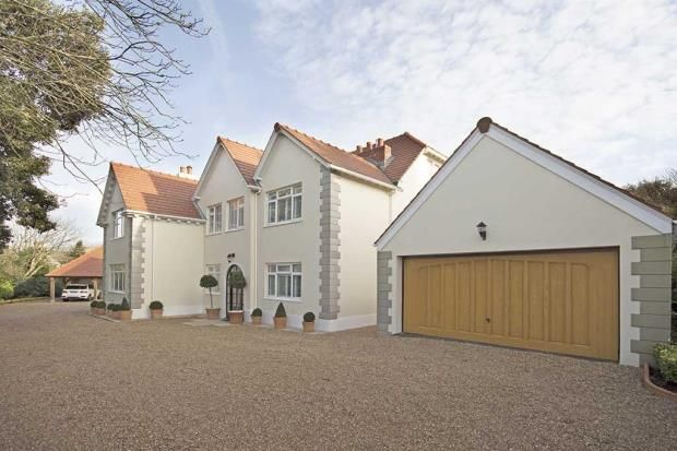 Thumbnail Detached house for sale in Rue Cauchez, St. Martin, Guernsey
