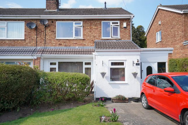 Thumbnail Semi-detached house for sale in Rockfield Drive, Helsby, Frodsham