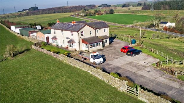 Thumbnail Detached house for sale in The Mount, Comb Hill, Haltwhistle