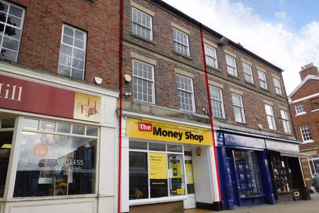 Thumbnail Retail premises for sale in High Street, Newcastle-Under-Lyme, Staffordshire