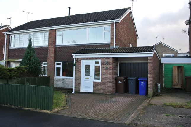 Thumbnail Semi-detached house to rent in Grenville Close, Uttoxeter