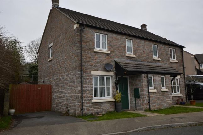 Thumbnail Semi-detached house to rent in Chestnut Close, Pillmere, Saltash, Cornwall