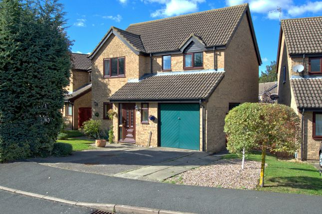 Thumbnail Detached house for sale in Harebell Close, Cambridge