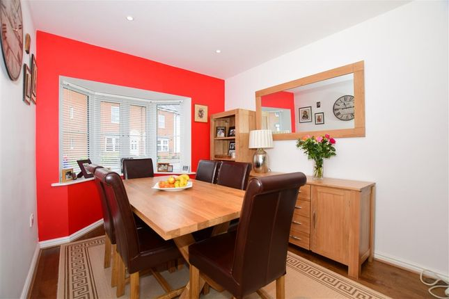 Thumbnail Detached house for sale in Hazen Road, Kings Hill, West Malling, Kent