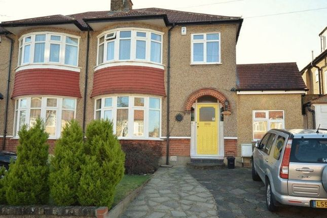 Thumbnail Semi-detached house for sale in Mount Drive, Harrow