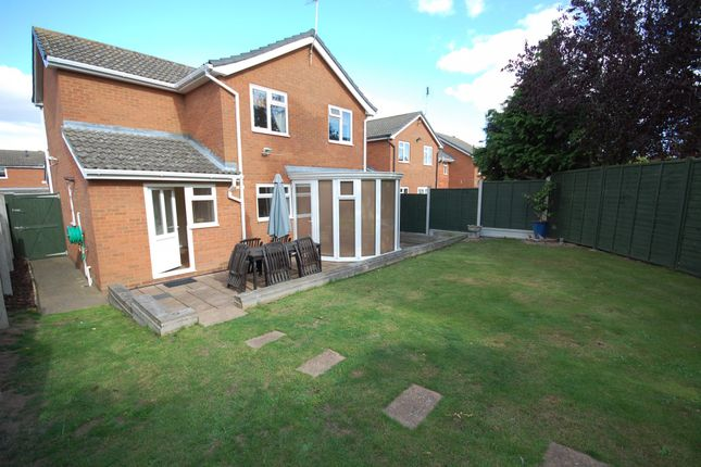 Thumbnail Detached house for sale in Gainsborough Drive, Lawford, Manningtree
