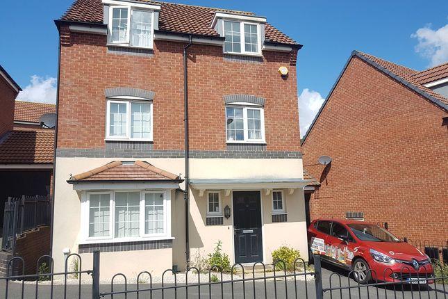 Thumbnail Detached house to rent in Stillington Crescent, Hamilton, Leicester