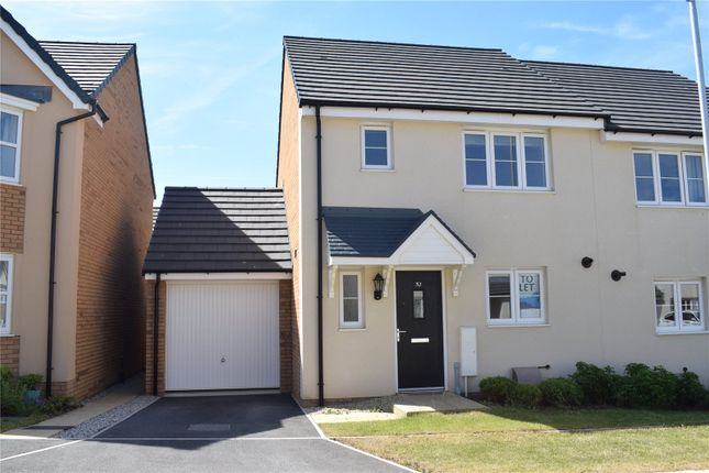 Thumbnail Semi-detached house to rent in Pintail Close, Bude
