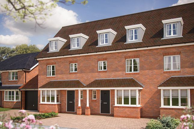 """Thumbnail Town house for sale in """"The Wimborne"""" at Holden Close, Biddenham, Bedford"""