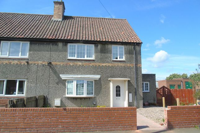 Thumbnail Semi-detached house to rent in Druridge Avenue, Hadston, Morpeth