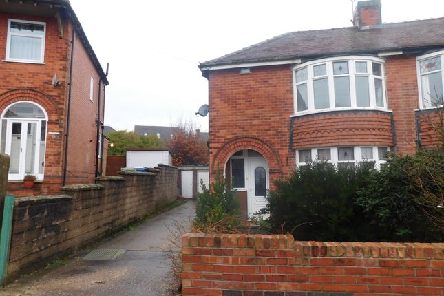 Thumbnail Semi-detached house to rent in Norbury Drive, Mansfield