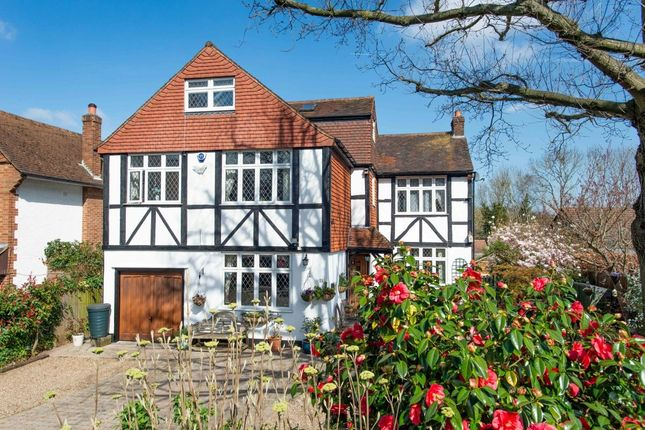 Thumbnail Detached house for sale in The Meadway, Chelsfield Park, Orpington
