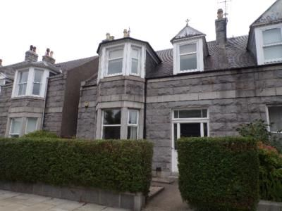 Thumbnail Terraced house to rent in Forbesfield Road, Aberdeen