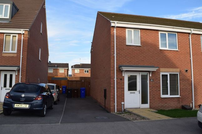 Thumbnail Semi-detached house to rent in Balata Way, Horninglow, Burton.