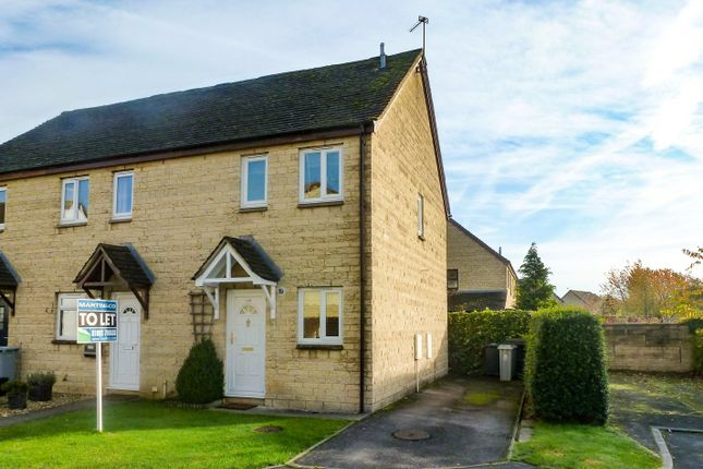 Thumbnail End terrace house to rent in Manor Road, Witney